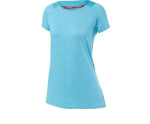 Women's DryLite Lyra Tee - Mizuno - M - Purple/Blue - C472