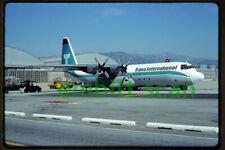 Original Slide, Trans International Airlines Lockheed L-100-30 Hercules (N16ST)