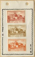 1930 SPAIN SPANISH-AMERICAN AIRMAIL🛩️ SET  Scott AP11, AP7 MLH