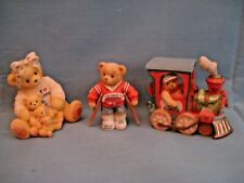 Lot of 15 Cherished Teddies, Santa Express, Mom, Japan, Holland 1993 - 1999