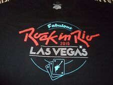 Rock In Rio 2015 Shirt ( Used Size L ) Very Nice Condition!