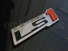 GM LICENSED, LS1 'ZR1' STAINLESS STEEL & ACRYLIC EMBLEM BADGE, CUSTOM OPTIONS