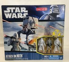 Attack on Hoth Playset STAR WARS Target Exclusive at-st driver snowtrooper 2010