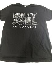 Vintage Men'S Black Xl Billy Joel Rock & Pop Double Sided Concert T-Shirt