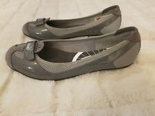 Puma ECO Ortholite Women's Gray Flats Sport Lifestyle Shoes Size 7.5