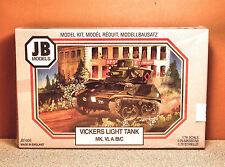 1/76 Jb Models Vickers Light Tank Mk. Vi A/B/C Model Kit # Jb1009