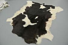 Cowhide calf cow skin rug fur taxidermy pelt skin soft luxury decor 100% real