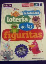 Metta La Fabulosa Lotería de las figuritas - todas quieren estar Juego tarjeta