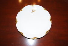 """Wonderful Toledo German Porcelain Wall Plate Art Deco Decorated With Initial """"B"""""""
