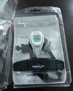 Sportline Cardio 660 Women's Heart Rate Monitor/ watch, white gray