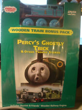 Thomas And Friends DVD & TOY TRAIN pack MISB Percy's Ghostly Trick 2007