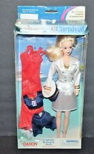 """CARNIVAL CRUISE CAPTAIN Barbie DOLL 11.5"""" Has 3 Outfits From Daron Toys"""