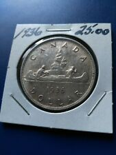 1936 Canadian Silver Dollar ($1), No Reserve!