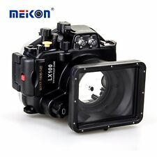 Meikon 40m/130ft Underwater Camera Housing for Panasonic Lumix LX100 27-75mm