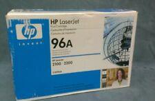 OEM HP 96A Black Toner Cartridge HP LaserJet 2100 2200  HP C4096A  NEW SEALED