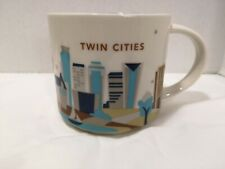 Starbucks Twin Cities You Are Here Coffee Mug Cup 14 Oz Collection 2015 YAH