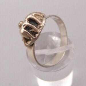 Außergewöhnlich seltener exclusiver DESIGNER Ring Silber interessante Auflage