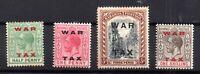 Bahamas 1919 War Tax mint LHM set #102-105 WS16584