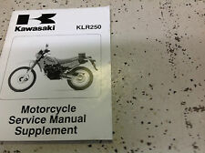 1985 1986 1990 1997 02 2003 KAWASAKI KLR250 KLR 250 Service Repair Shop Manual x