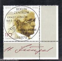 Bund 1984 , o , Eckrand mit Berliner FDC Stempel