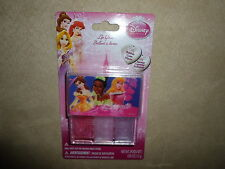.05 Oz Disney Princess Bubble Gum Flavored Lip Gloss Trio~Ages 3+~NEW IN PACKAGE