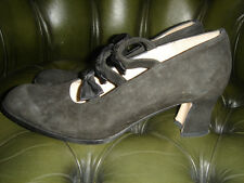 Pied 'a terre SIZE 37 vintage SHOES leather sole, leather upper,   worn once