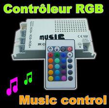 851# contrôleur ruban LED RGB avec fonction musique