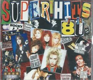 4 CD set SUPER HITS of the 80's -KEITH MARSHALL THE LOOK ADAM ANT BANGLES ABC14*