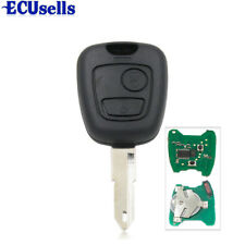 For Peugeot 206 306 405 Transponder Key with PCB Battery with ID:46 Chip 433MHZ