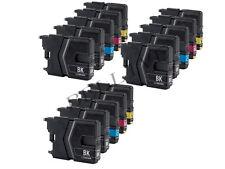 15 CARTUCCE STAMPANTE PER BROTHER LC985 MFC-J265W MFC-J220 MFC-J410 DCP-J140W