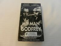 My Man Godfrey (VHS/EP, 1999, Collectors Edition) William Powell, Carole Lombard