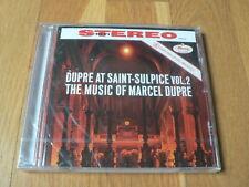 Dupré at Saint-Sulpice vol.2 - The Music of Marcel Dupré - CD Mercury NEUF NEW