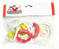 Williams Space Station Pinball Machine Replacement Repair Rubber Ring Kit White
