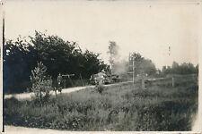 Original Foto /   WW1, Deutscher Geschütz LKW