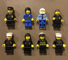 Lego Minifigures Bulk City Lot - Police x 8
