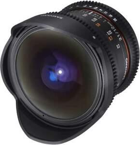Samyang 12mm T3.1 UMC II Canon EF Full Frame VDSLR/Cine Lens
