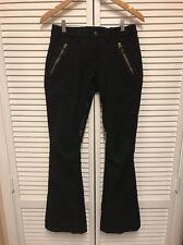 Burton Dry Ride Womens Snow Ski Pants Size XS Waterproof Black Vented Winter