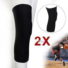1 pair Honeycomb Pad Crashproof Antislip Basketball Leg Knee Protector Gear M BG