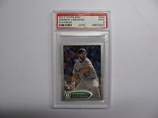 2012 Topps Mini #202 Andrew Carignan  Platinum #5/5  PSA 9  POP 1  only 1 graded