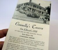 CONNELLY'S TAVERN NATCHEZ MISSISSIPPI 1920's PILGRIMAGE TOUR BROCHURE 1900's