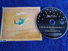 Peter Maffay Maxi-CD Backen für den Weihnachtsmann / Lass Es Schnei'n - 2-track