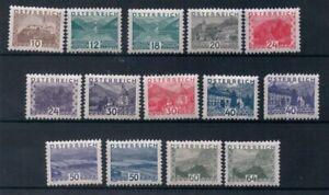 Austria 1932 MH Landscapes