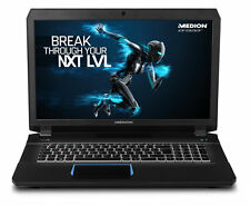 "Medion Erazer X7843 17.3"" Gaming Laptop, i7-6700HQ 16GB 256GB+1TB 980M 30020519"