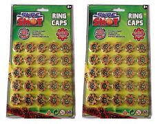 400 Sure Shot Ring Caps 200 x 2 Fits all 8-shot Toy Guns Riffle Revolver Chamber