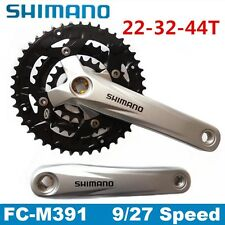 Shimano FC-M391 Acera 9 speed Mountain Bike BIcycle Crankset 44-32-22T 170mm