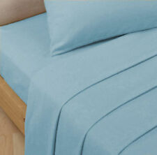"""EXTRA DEEP FITTED PERCALE SINGLE, DOUBLE, KING SUPER KING SHEETS SIZE 16""""/40 CM"""