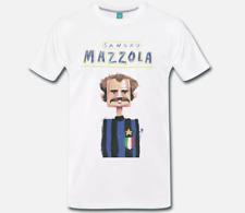 T-SHIRT MAGLIA MEME SANDRO MAZZOLA ARTWORK INTER CALCIO VINTAGE AMALA - 1