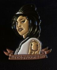 More details for amy winehouse 'what kind of f*ery is this' enamel pin badge back to black