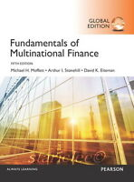 NEW 3 Days AUS Fundamentals of Multinational Finance 5E David Eiteman Stonehill