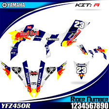 yamaha yfz 450r yfz450 2009 2010 2011 2012 2013 decals graphics stickers KIT